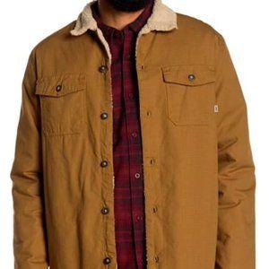 VANS Midtown New Dirt Faux Shearling Jacket